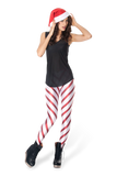 Candy Cane 2.0 Red Leggings