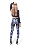 Circuit Board Purple Leggings