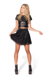 Lacey Skater Black Skirt