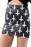 Cross of St Peter Black Skirt