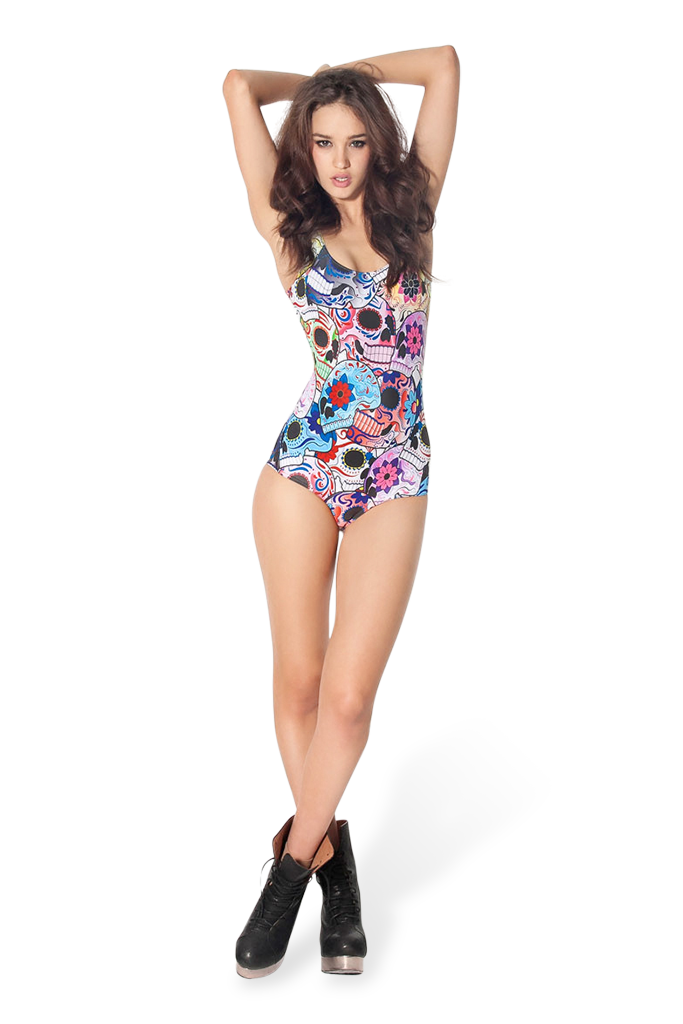 Day of the Dead Swimsuit