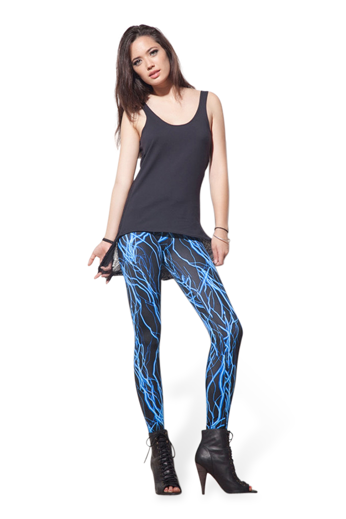 Electro Blue Leggings