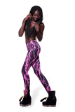 Electro Pink Leggings