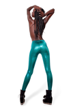 Juicy Fruit Emerald Leggings