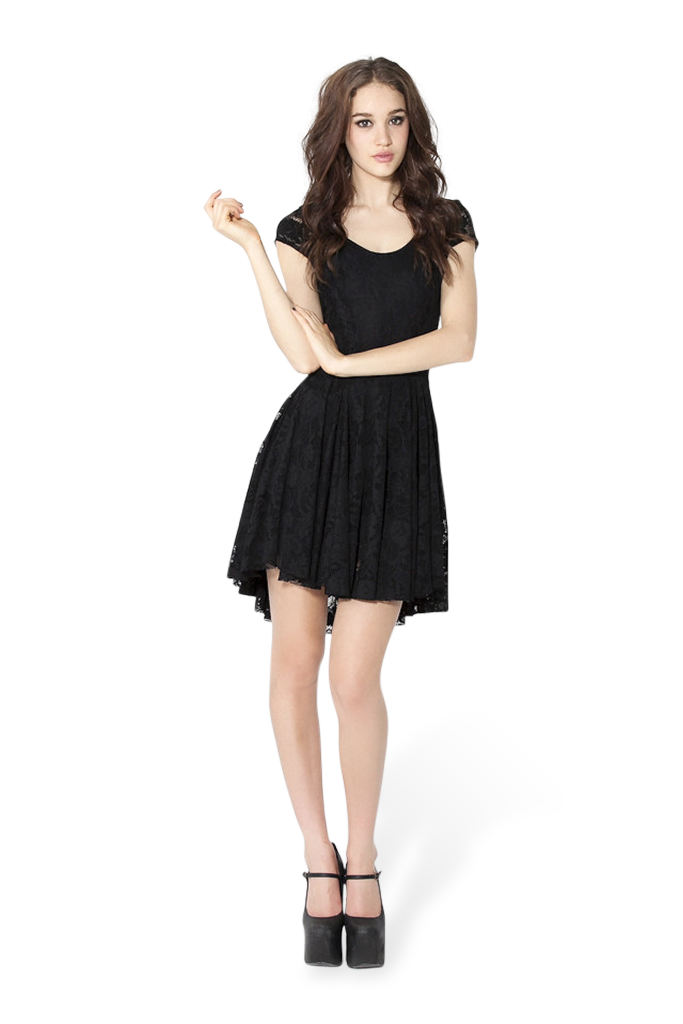 Evil Cheerleader Lace Dress