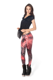 Fairy Paint Red/Black Leggings
