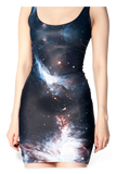 Galaxy Black Dress