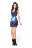Galaxy Blue Dress
