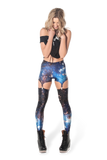 Galaxy Blue Suspenders