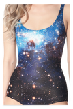 Galaxy Blue Swimsuit
