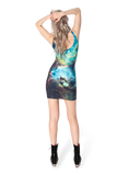 Galaxy Green Dress