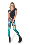 Galaxy Green Leggings