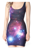 Galaxy Purple Dress