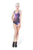 Galaxy Purple Swimsuit