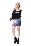 Galaxy Rainbow Skirt
