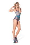 Galaxy Rainbow Swimsuit