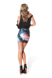 Galaxy Red Skirt