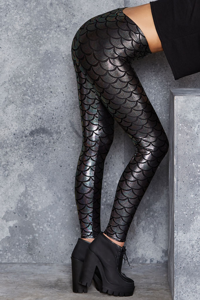 Mermaid Chameleon Leggings