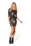 Jungle Cat 3/4 Sleeve Dress