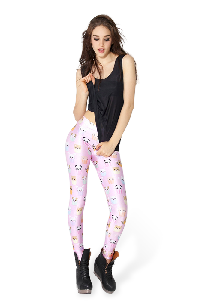 Kawaii Pink Leggings