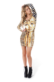 King Tut Long Sleeve Dress