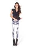 Leg Bones Negative Leggings