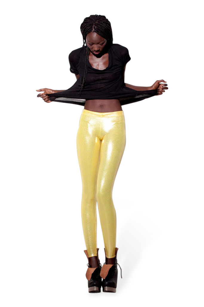 Juicy Fruit Lemon Leggings