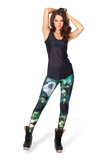 Lord Of The Rings Montage Green Leggings