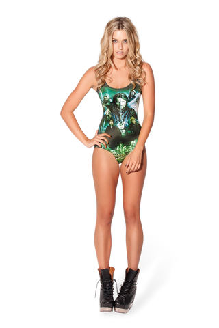 Lord Of The Rings Montage Green Swimsuit - LIMITED