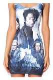 Lord Of The Rings Montage Grey Dress