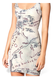 Middle Earth Map Dress - LIMITED