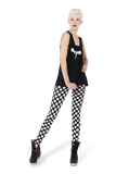 Monochromatic Dot Leggings