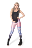 Mountains Pink Leggings
