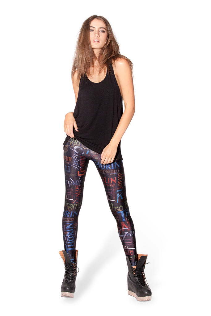 Names Black Leggings – Black Milk Clothing