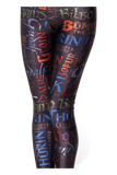 Names Black Leggings