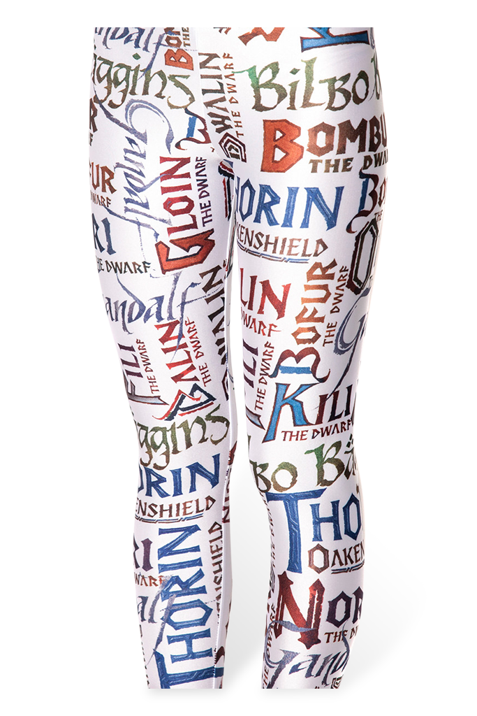 Names White Leggings – Black Milk Clothing