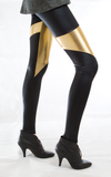 Spartans Gold Leggings