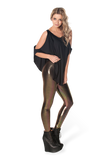 Oil Slicks Bronze/Gold Leggings