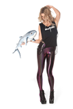Oil Slicks Pink Leggings