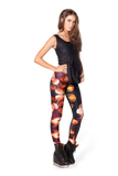 Jellyfish Orange Leggings