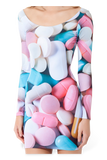 Pills Long Sleeve Dress