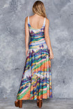 The Seine at Herblay Maxi Dress - LIMITED