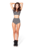 Polka Dot 2 Piece Bodysuit