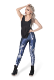 Resurrection Blue Leggings