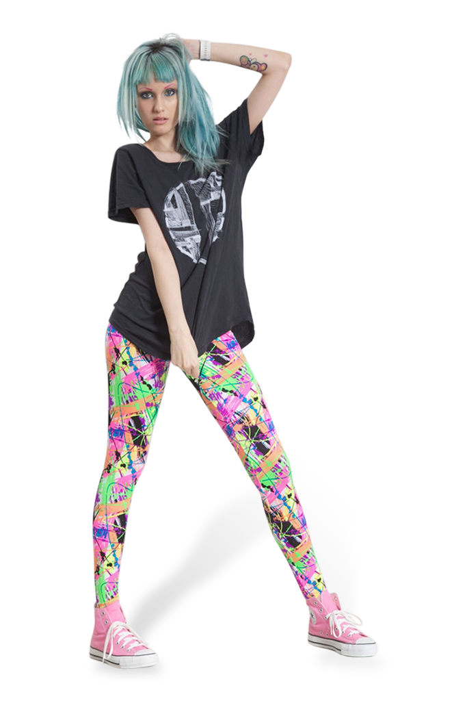 Scribble Leggings
