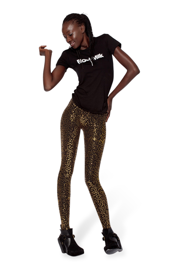Sequin Gold Leggings