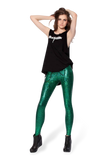 Shattered Glass Emerald Leggings