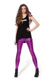 Shattered Glass Fuchsia Leggings