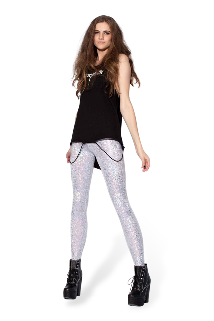 Shattered Glass Pearl Leggings