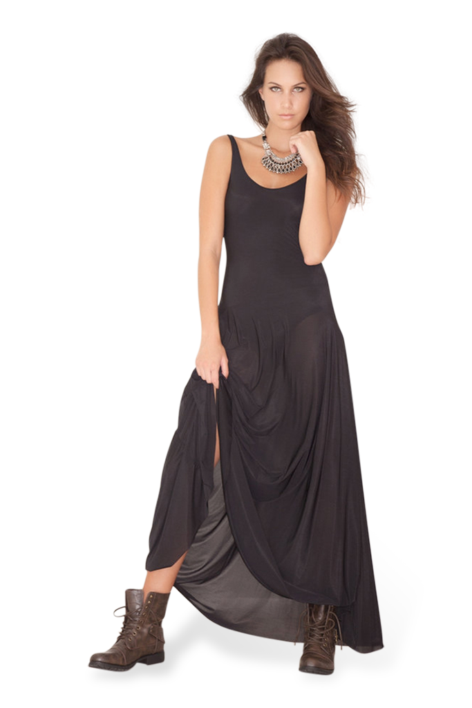 Sheer Maxi (with Bodysuit)